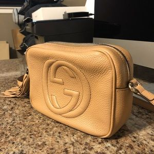 Authentic Gucci Soho Disco Shoulder bag.